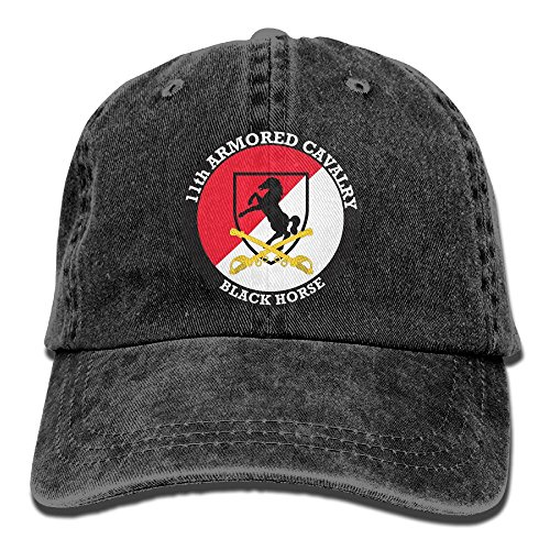 Mens Quick Dry US Army 11th Armored Cavalry Classic Adjustable Caps