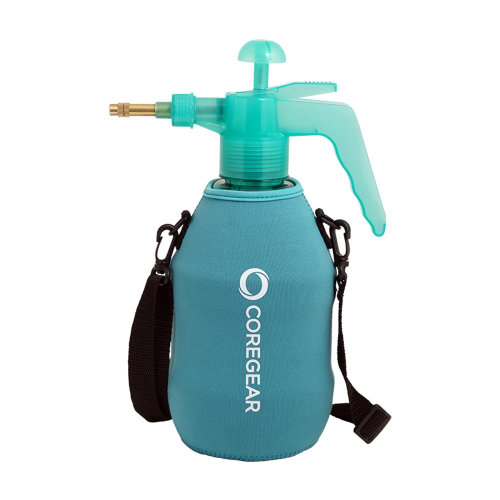 COREGEAR (ULTRA COOL XLS USA Misters 1.5 Liter Mister & Sprayer Personal Water Pump With Full Neoprene Jacket and Built-In Carrying Strap (Teal)