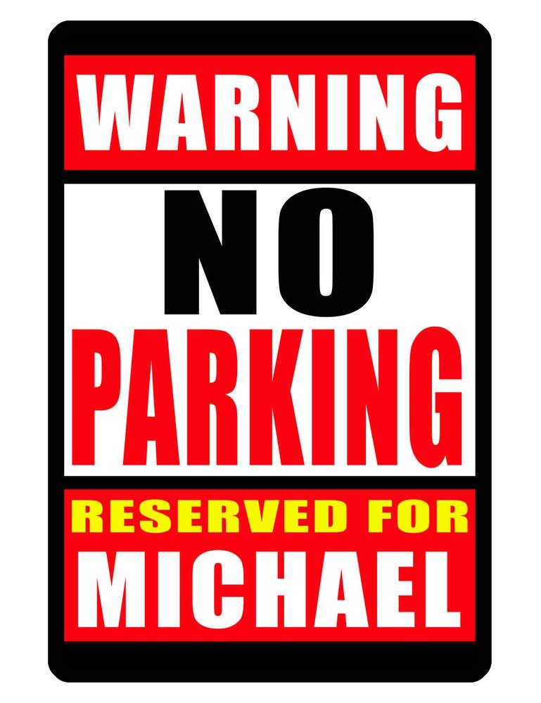 PotteLove Cartel de estacionamiento Reservado Personalizado ...