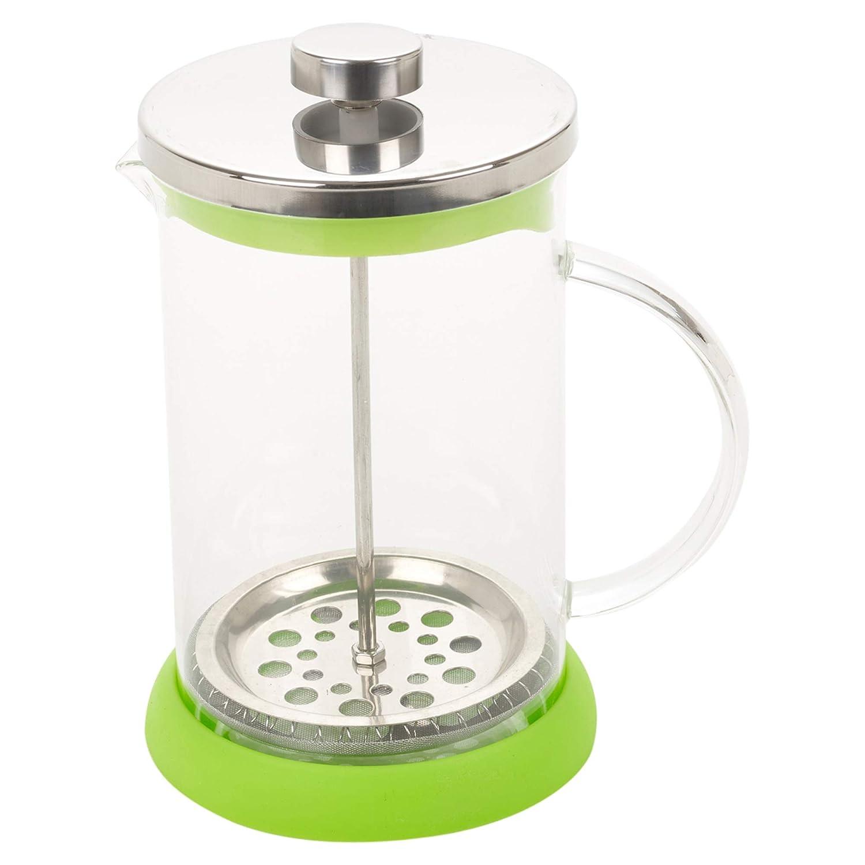 Disponible en varios colores gris Cafetera y tetera de 800 ml Cafetera de prensa francesa
