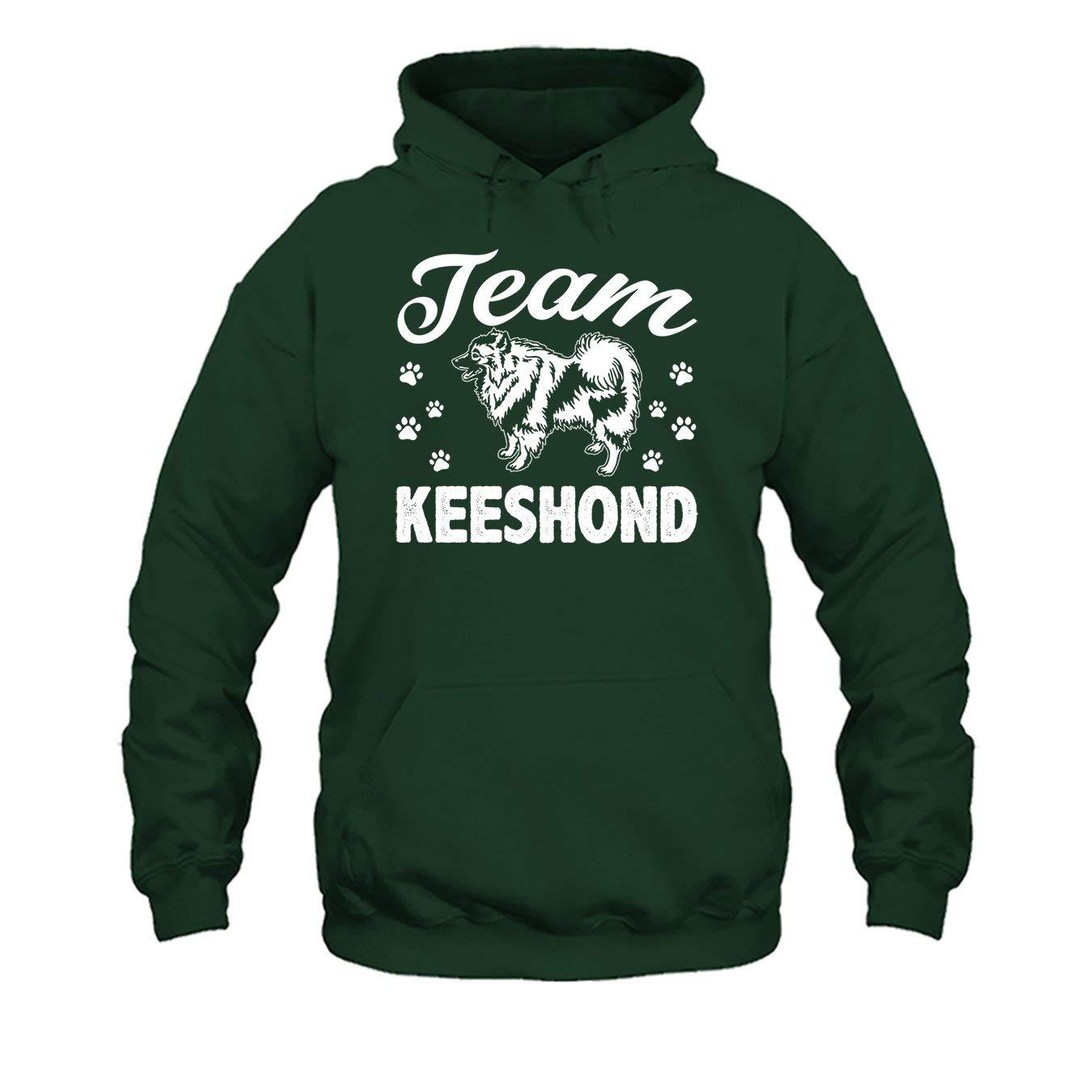 Tee Shirt Team Keeshond Dog Shirt Mens Shirt