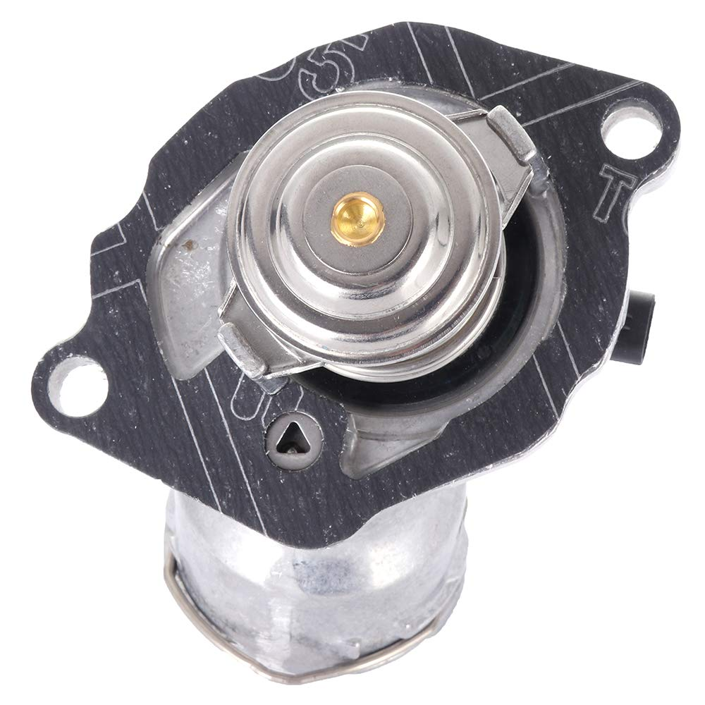 ECCPP 2732000215 4833100D 902-5903 Engine Coolant Thermostat and Housing Assembly Radiator Coolant/Thermostat Housing Equipment fit for 2007-2011 Mercedes-Benz E550 2009-2012 Mercedes-Benz G550