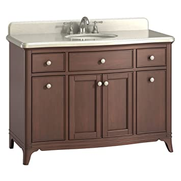 single bathroom vanity set by kokols with makeup area legion furniture