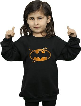 DC Comics niñas Batman Halloween Logo Camisa De Entrenamiento 9-11 Years Negro: Amazon.es: Ropa y accesorios