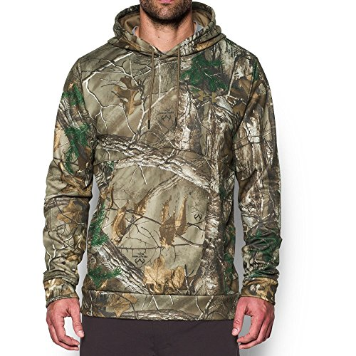 Under Armour Men's Storm Camo Hoodie, Realtree Ap-Xtra/Bayou, XXX-Large