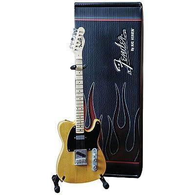 Axe Heaven FT-001 Fender Telecaster Butterscotch Blonde Miniature Guitar: Musical Instruments