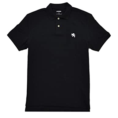 881a8944 Image Unavailable. Image not available for. Color: Express Mens Modern Fit  Pique Polo Shirt ...