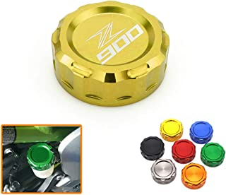 Heinmo For KAWASAKI Z900 Z800 Z650 Z750 Oil Cover Rear Brake Fluid Reservoir Cap Cover