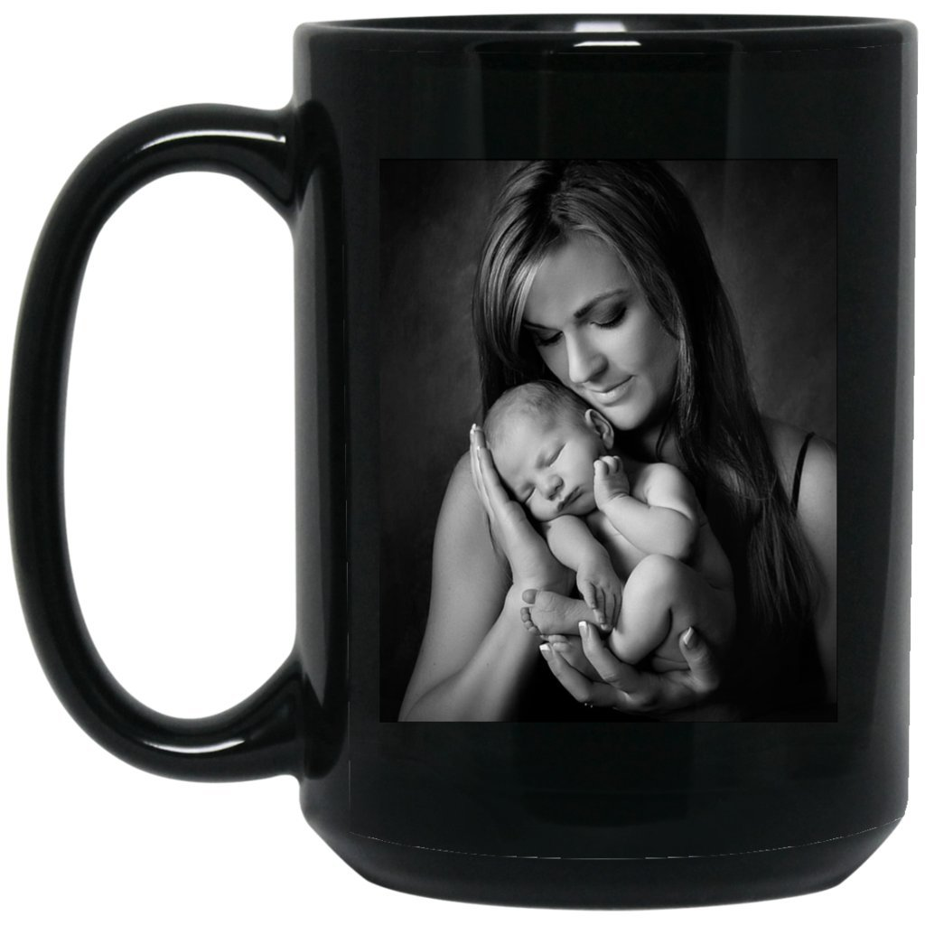 Personalized Coffee Mug for Father Day - Add Your Photo/Logo to Customized Travel, Beer Mug - Great Quality for Gift (Black, 15 oz) by BestEquips (Image #7)