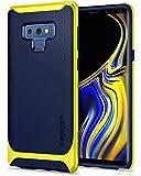 【Spigen】 スマホケース Galaxy Note9 ケース [ SC-01L SCV40 ] 対応 二重構造 バンパー 米軍MIL規格取得 耐衝撃 ネオ・ハイブリッド 599CS25055 (オーシャン・ブルー)