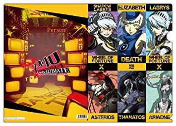 Amazon Com Persona 4 Arena Clear File F Toys Games