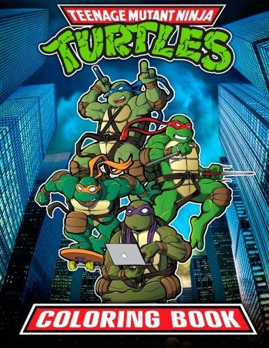 Teenage Mutant Ninja Turtles Coloring Book: 37 High Quality TMNT Illustrations for Kids