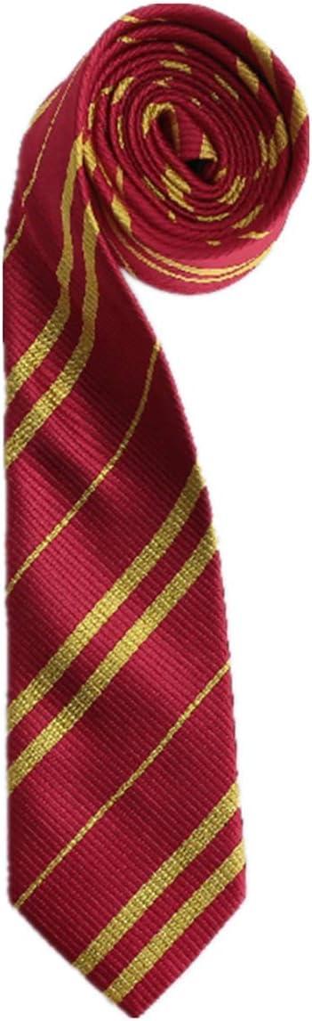 O.AMBW Harry Potter Abbigliamento per Adulti e per Bambini Collana 115-155cm Cappello Camicia Gonna Sciarpa Occhiali Bacchetta Magica Cravatta Calze Guanti Set di Costumi