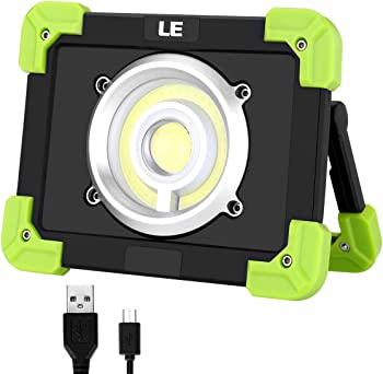 LE Portable 20-watt Rechargeable LED Work Light