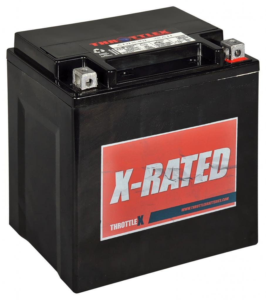 ADIX30L - AGM Replacement Power Sport Battery by ThrottleX Batteries