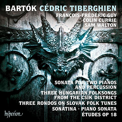 Price comparison product image Bartók: Sonata for Two Pianos and Percussion & other piano music