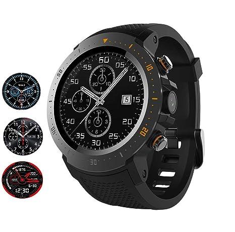 ACZZ Android 7.1 4G Lte 1.3Inch Relojes inteligentes de ...