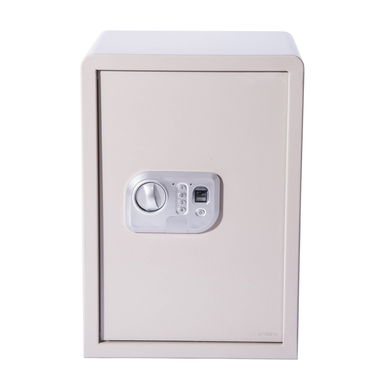 HomCom 20'' x 14'' x 12'' Biometric Fingerprint Electronic Gun Safe Box with Keypad Lock Security