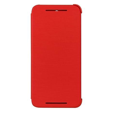 HTC 99H11611-00 Flip Schutzhülle für HTC One E8 rot