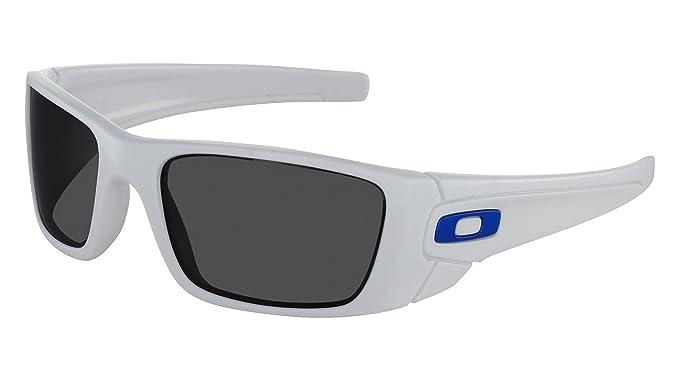 86b030b7c0 Lunettes de soleil Oakley Fuel Cell Blanc polarisant: Amazon.fr ...