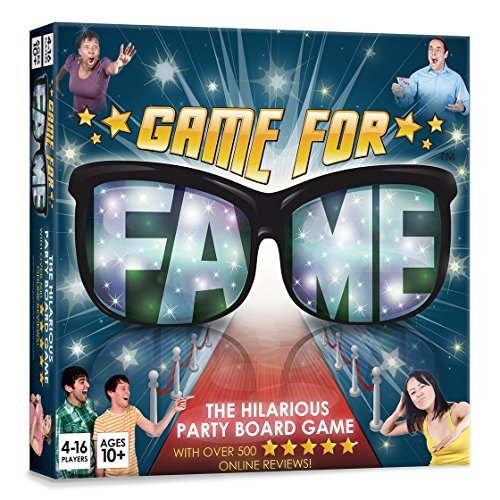 Game For Fame The Hilarious Party Board Game]()