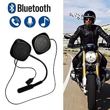 iYoung Auriculares Bluetooth 4.2 estéreos inalámbricos para el Casco de la Motocicleta, Kits del Receptor