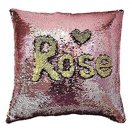 1d0f82e32996 Amazon.com  MOCOFO Glitter Pillow