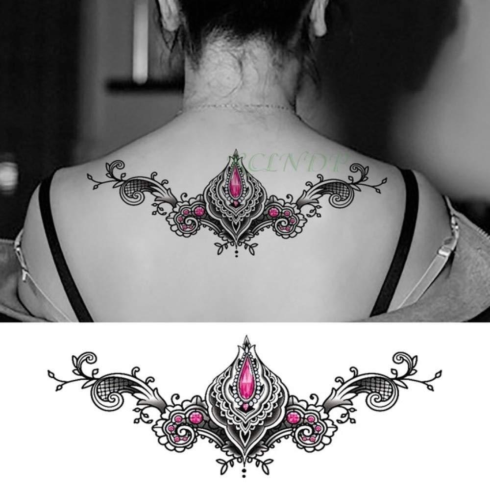 Handaxian 3pcs Impermeable Tatuaje Etiqueta engomada del Tatuaje ...