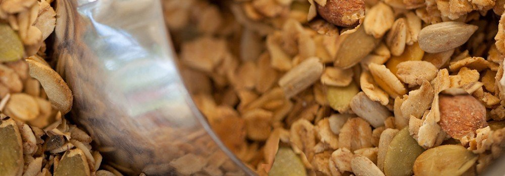 Nana's All Natural - Flying Oats and Nuts - 12 Oz Granola with Almonds, Walnuts, Sunflower and Pumpkin Seeds