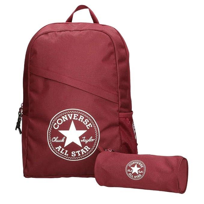 Converse Unisex mochila estuche Schoolpack XL set Burgundy: Amazon.es: Ropa y accesorios