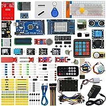 Arduino MEGA 2560 Ultimate Starter Kits with MEGA 2560 R3, Servo Motor,modules,sensors (Arduino MEGA 2560 kit)
