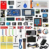arduino mega starter kit - Arduino MEGA 2560 Ultimate Starter Kits with MEGA 2560 R3, Servo Motor,modules,sensors (Arduino MEGA 2560 kit)