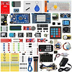 Package Include: 1pcs RFID(not included with white card ang key chain) 1pcs IC Card  1pcs IC Key chain  5pcs LED F5-white  5pcs LED F5-red  5pcs LED F5-yellow  5pcs LED F5-blue  5pcs LED F5-green  1pcs F5-full-color RGB  1pcs Breadboard ZY-10...