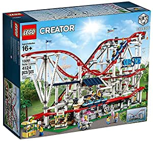 Amazon.com: LEGO 6213412 Roller Coaster 10261 Building Kit ...