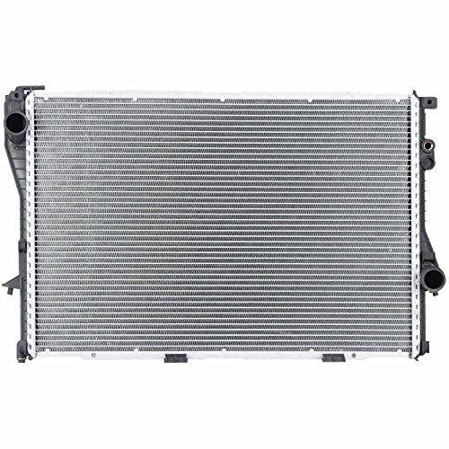 Klimoto Brand New Radiator fits BMW 528i 540i 740i 740iL 750iL 850Ci 2.8L L6 4.0L 4.4L V8 5.0L 5.4L V12 AM-16665644 BM3010108 17111702969 CU1401 RAD1401