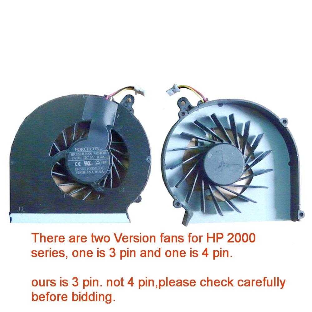 Cooler Para HP 2000 2000-1XX 2000-2XXX 2000T 2000Z G43 G57 C