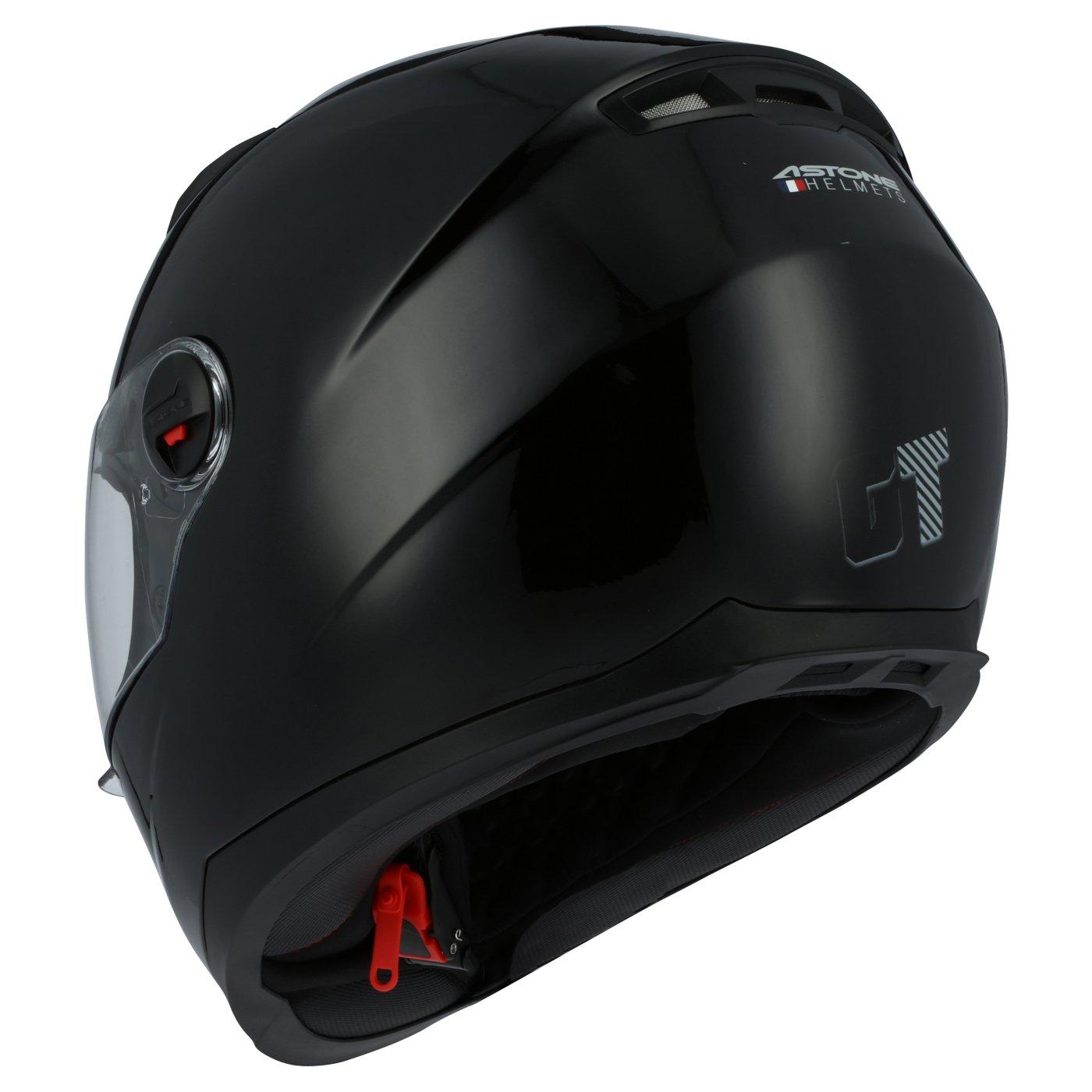 Amazon.es: Astone Helmets gt2 m-bkxs casco Moto Integral GT Gloss, Color Negro Brillante, talla XS