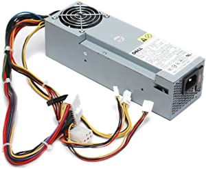 Genuine Dell 160W R5953 Power Supply PSU For OptiPlex GX280 Small Form Factor (SFF) and Dimension 4700C Systems Part Numbers: U5427, R5953, D6370, HP-L161NF3P REV 02, PS-5161-7DS, PS-5161-7DS2