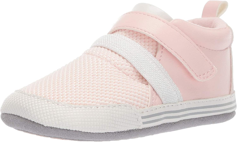 | Ro + Me by Robeez Kids' Jill Athletic Sneaker Crib Shoe | Sneakers