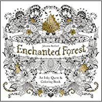 Enchanted Forest. An Inky Quest And Colouring Book