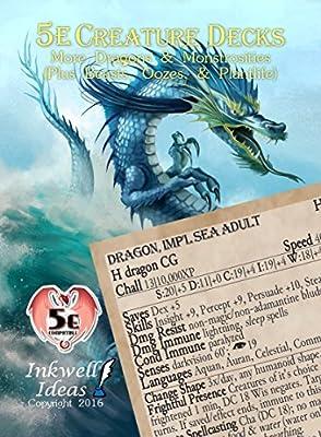 5e Creature Decks: More Dragons and Monstrosities: Amazon
