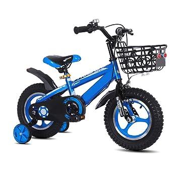 Bicicleta para niños 2-3-4-6 años Bicicleta para niños, niña Rueda de Entrenamiento, Bicicleta Deportiva para niños: Amazon.es: Deportes y aire libre