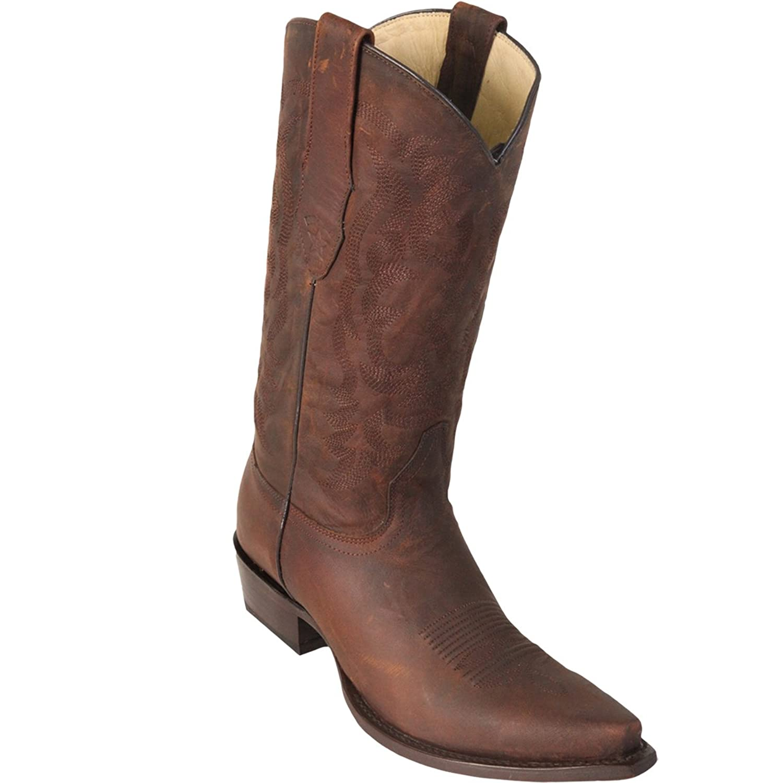 Original Brown Leather Snip-Toe Boot