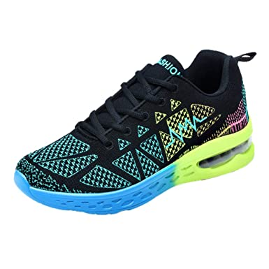 13fbd710525f Amazon.com  Sunyastor Clearance Sale!Women Men Athletic Sport Shoes ...