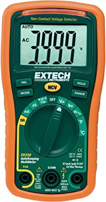 Extech EX330 Autoranging Mini Multimeter