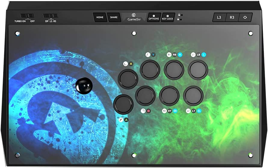 GameSir C2 Arcade Fightstick para Xbox One, PlayStation 4, Windows PC y Android: Amazon.es: Electrónica