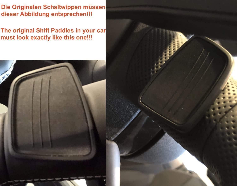 H Customs Schaltwippen Shift Paddle Alu Blau V2 2015 2019 A4 A5 Tt Tts Q7 Auto