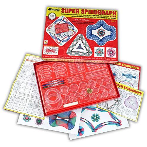 (Spirograph Super Spirograph Jumbo Set,)