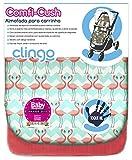 Comfi-Cush Memory Foam Stroller Liner - Flamingo