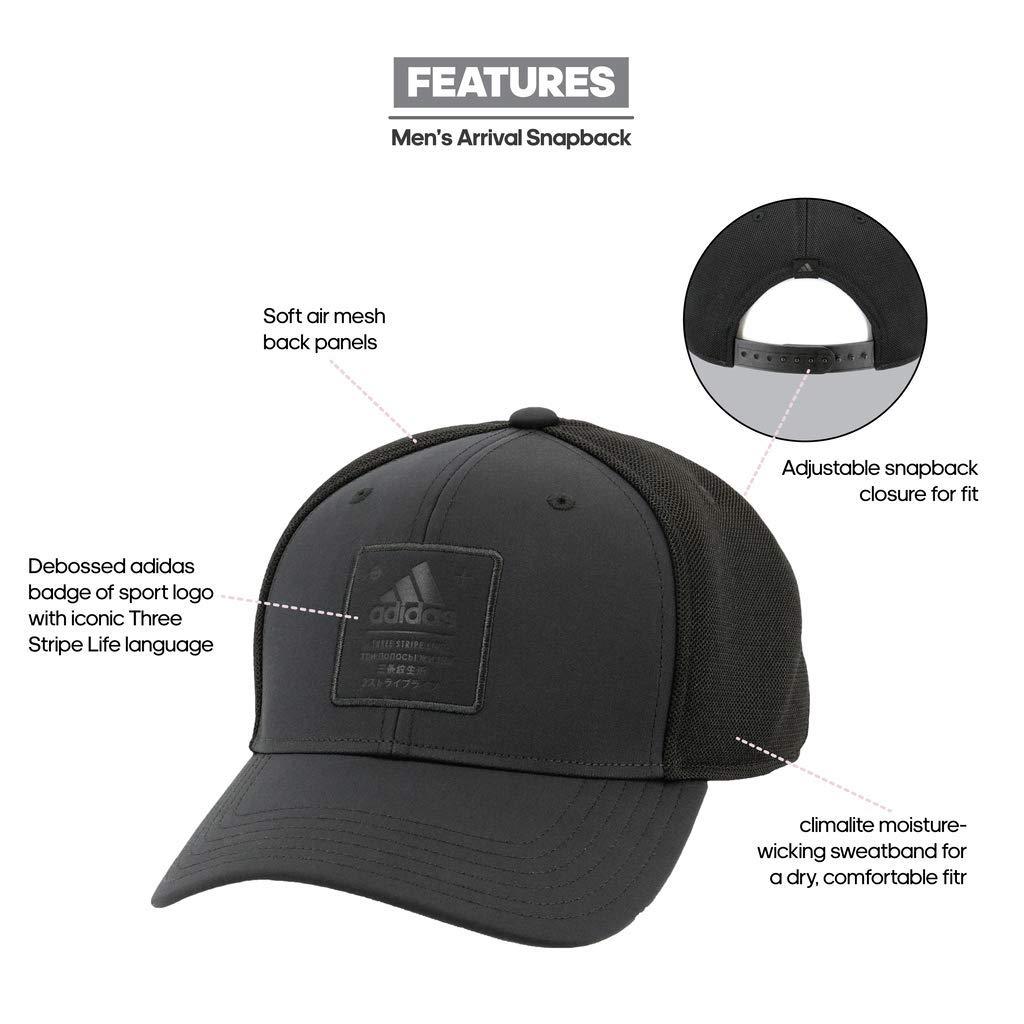 7ca8a1f002d Amazon.com  adidas Men s Arrival Snapback Cap